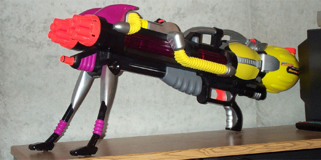 large squirt guns And video caught a Texas art teacher shooting a squirt.